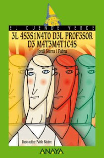 El asesinato del profesor de matemáticas (Jordi Sierra i Fabra)