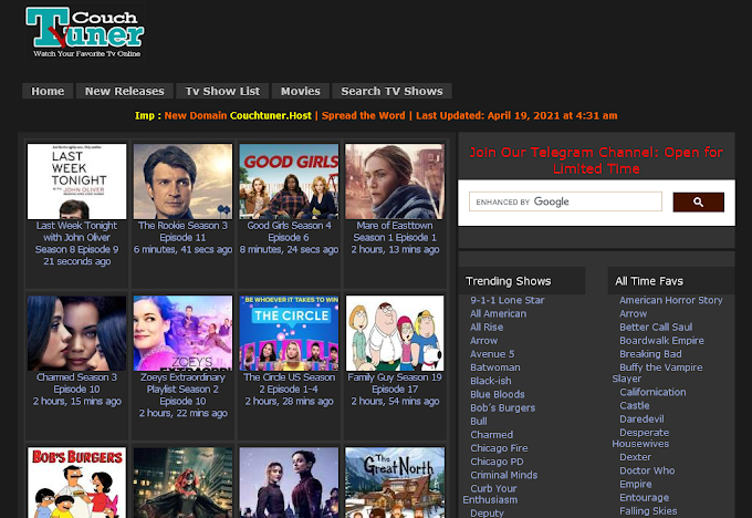 CouchTuner: 9 Best Site to Watch & Download Full Movies, TV Series, Anime Online For Free