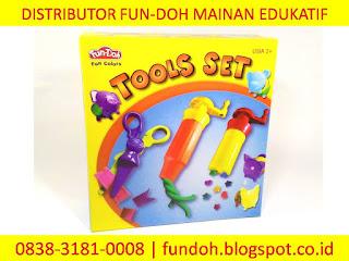 Fun-Doh Tools Set, fun doh indonesia, fun doh surabaya, distributor fun doh surabaya, grosir fun doh surabaya, jual fun doh lengkap, mainan anak edukatif, mainan lilin fun doh, mainan anak perempuan