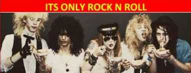 Año 1977 :  PRIMERA COMUNIÓN : rumours there never animals  GNR%2BSPAGHETTY