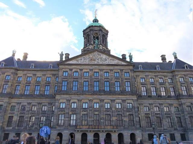 facciata palazzo reale amsterdam