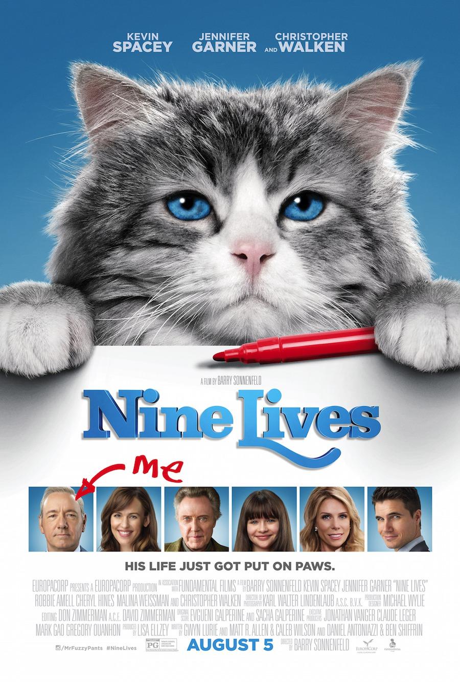 Nonton Film Nine Lives (2016)
