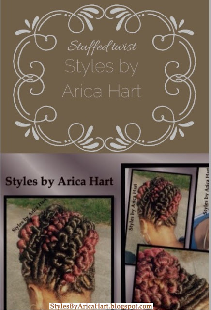 Stuffed twist hairstyles, black hairstyles