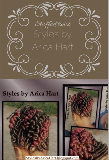 Stuffed twist hairstyles, black hairstyles