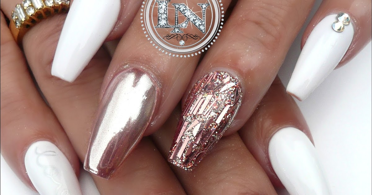 Perfect How To Make Rose Gold Chrome Nails Pattern - Nail Art Ideas ...