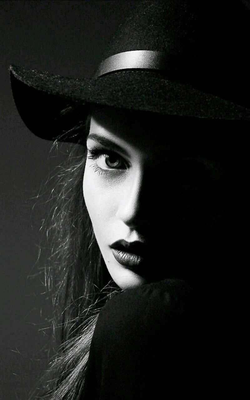 Half Face DP in Darkness for Social Media Profile