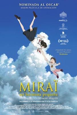 Mirai 2018 DVD R2 PAL Spanish