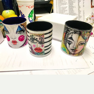 Colorful Original Art Mugs