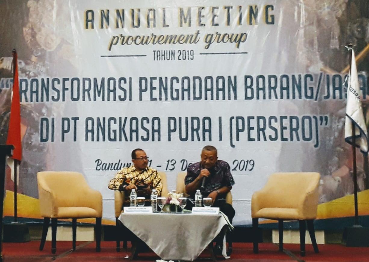 PT Angkasa Pura I Gelar Annual Meeting Transformasi Pengadaan Barang dan Jasa