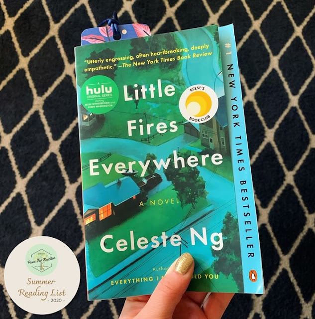 Book Review: Little Fires Everywhere by Celeste Ng Paws For Reaction Summer Reading List