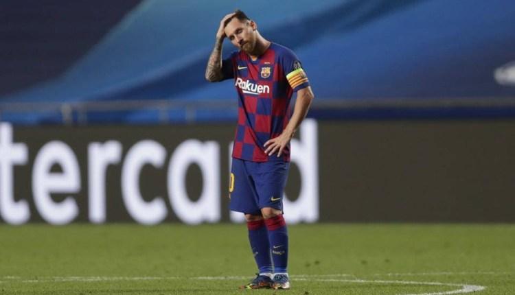 رسميا.. ميسي يقرر مغادرة برشلونة والجماهير تحتج أمام ملعب الفريق