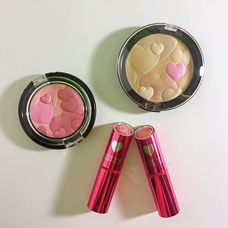 Physicians Formula Happy Booster Powder, Blush, & Lipstick