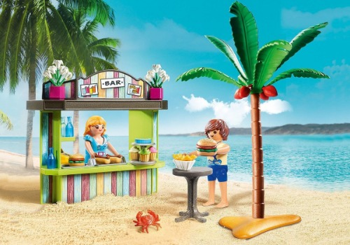 Playmobil strand family fun