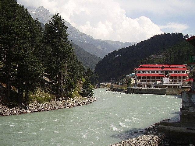 Kalam River, Kalam, Swat Valley, Pakistan