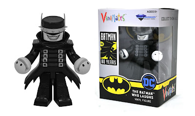 New York Comic Con 2019 Exclusive Batman Who Laughs Black and White Variant Vinimates Vinyl Figure by Diamond Select Toys x DC Comics