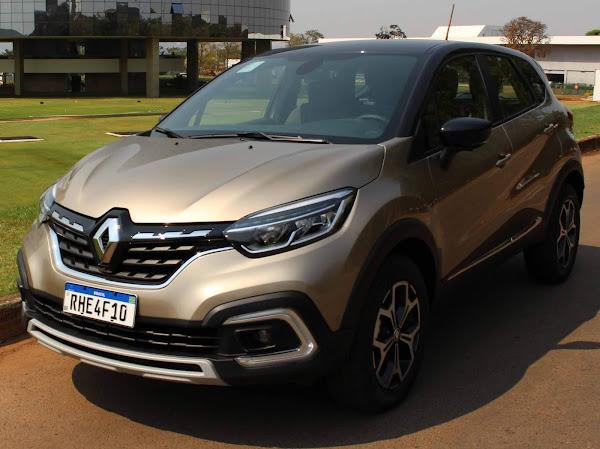 Novo Renault Captur 2022 1.3 Turbo CVT