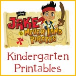 Jake and the Neverland Pirates: Free Printable Activity Book.