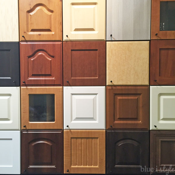 Closet Factory custom door and drawer front options
