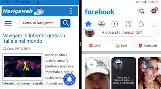 schermo diviso Android