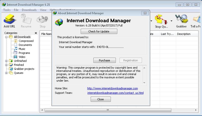 Screenshots Download IDM 6.28. Build 6 Full Version For Windows PC www.uchiha-uzuma.com