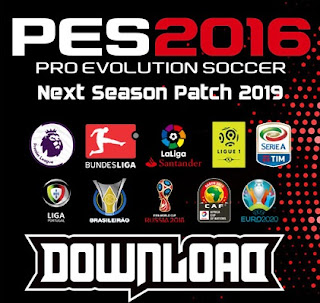 PES 2016 Next Season Patch 2019 Season 2018/2019