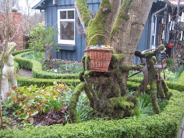 Außergewöhnliche Deko für den Garten