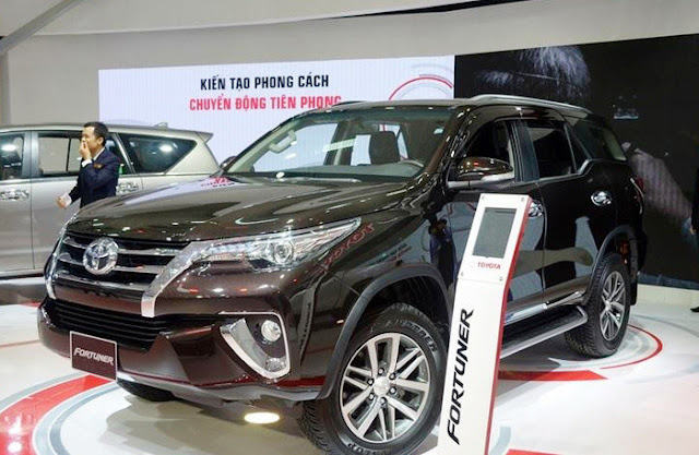 Toyota Fortuner 2019 sắp ra mắt Việt Nam sẽ có 4 phiên bản được lắp ráp trong nước.