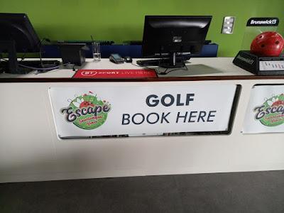 Gator Adventure Golf course in Chorley