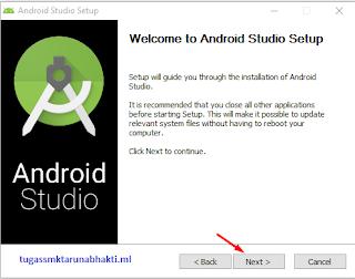 Cara Install Android Studio di windows 10