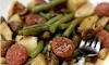 Instant Pot Cajun Sausage, Potatoes and Green Beans