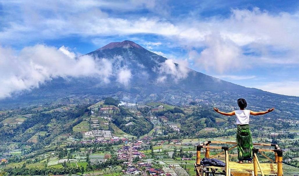 Destinasi Wisata Puncak Telkom Gunung Lompong Serang ...