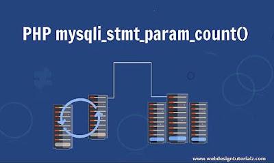 PHP mysqli_stmt_param_count() Function