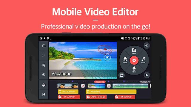 Gratis! Download aplikasi kinemaster pro tanpa watermark (No root - Google Drive)