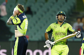 William Porterfield 107 - Sarfraz Ahmed 101 - Pakistan vs Ireland - 42nd Match - ICC Cricket World Cup 2015 Highlights