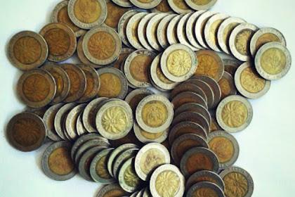 Bangunlah dari mimpimu kalau kamu merasa akan kaya jika memiliki Uang koin seperti ini