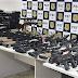 Bolsonaro parabeniza apreensão de arsenal de guerra pela Polícia Federal no Rio