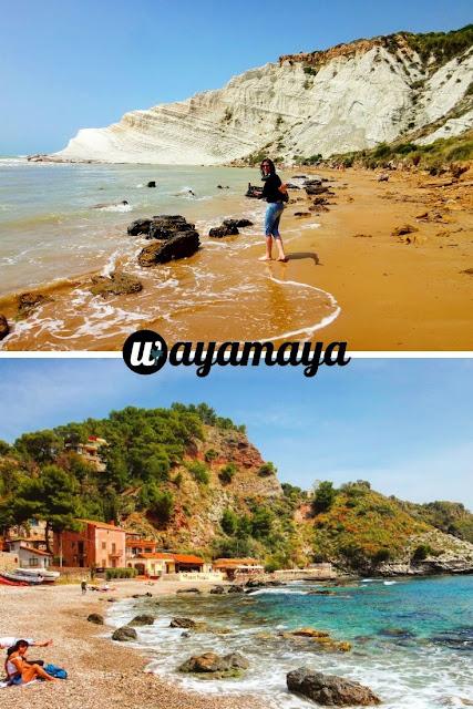 Scala dei Turchi beach, Agrigento & Isola Bella beach, Taormina | Sicily, Italy | wayamaya