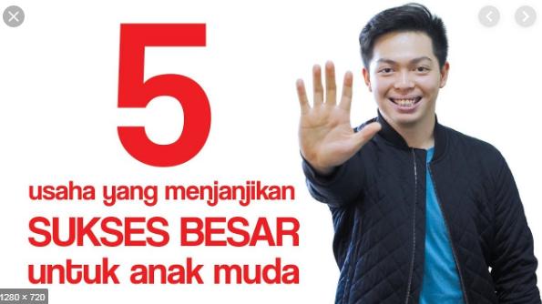 5 bisnis anak muda Yang menjanjikan sukses besar