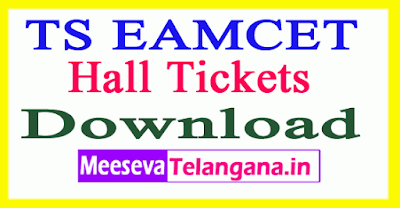 TS EAMCET Hall Tickets 2019 Download Engineering Agricultural Test