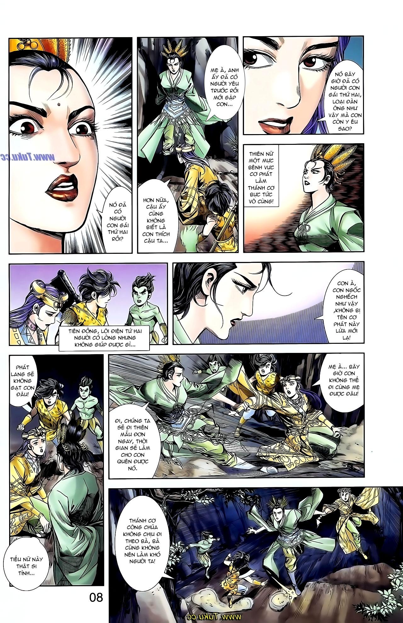 Cơ Phát Khai Chu Bản chapter 128 trang 11