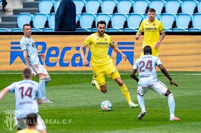 Video Celta Vigo 0-1 Villarreal: Tấn công máu lửa, người hùng rực sáng