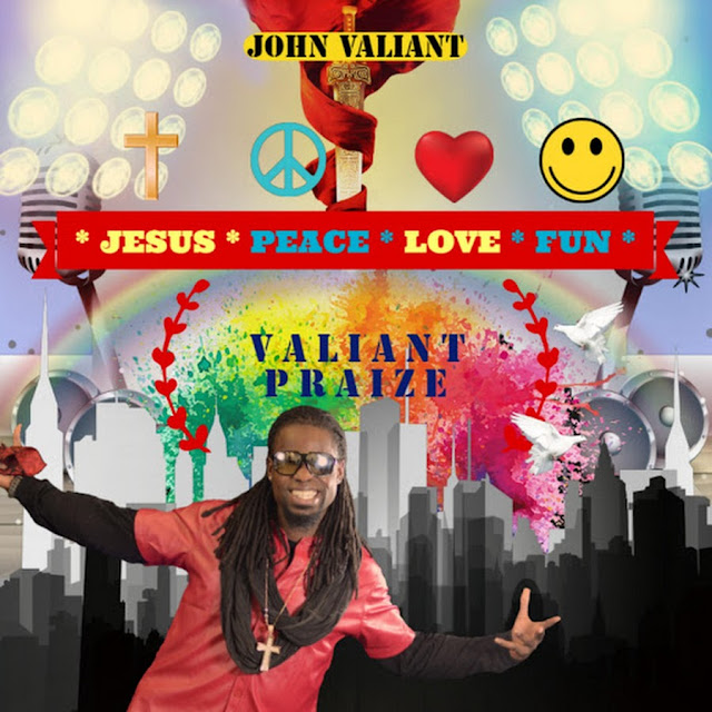 "Valiant Praize uses original newage sounds on gospel rap album ""Jesus Peace Love Fun"""