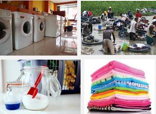 Rangkuman lengkap materi Binatu / Laundry kelas XI, XII SMK