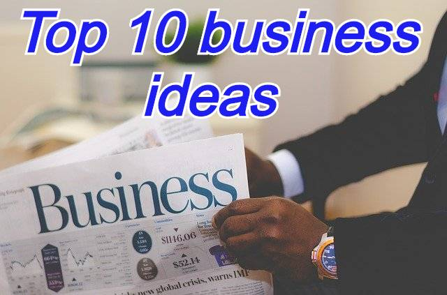Top 10 business ideas in hindi
