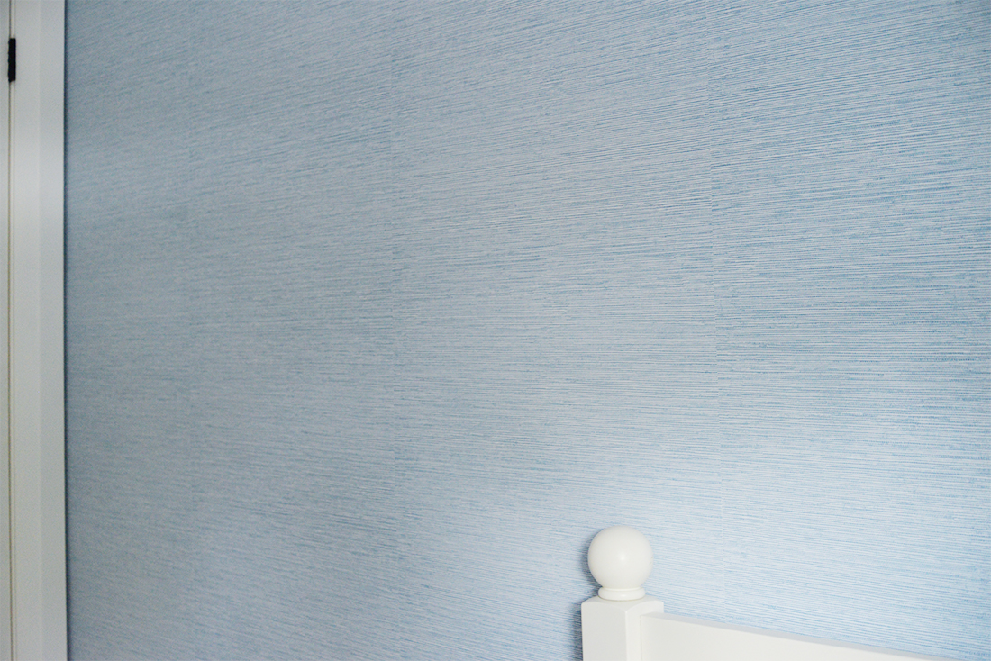blue faux grasscloth wallpaper, paste the wall wallpaper, blue grasscloth