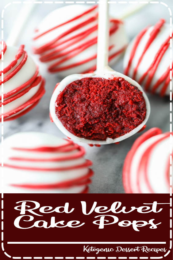 These delicious treats will be the highlight of your next party or celebration Red Velvet Cake Pops