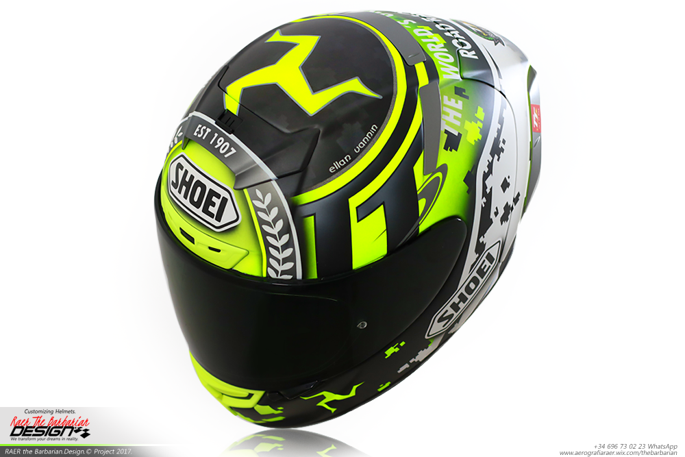 racing helmets garage shoei x spirit iii tourist trophy. Black Bedroom Furniture Sets. Home Design Ideas