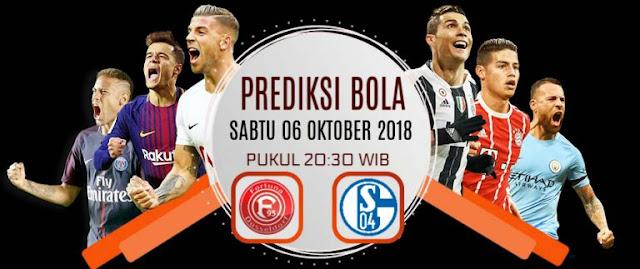 Prediksi Dusseldorf vs Schalke 6 Oktober 2018 Bundesliga German Pukul 20.30 WIB