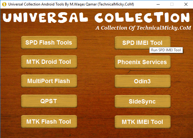 Universal Collection Android Tools Pack