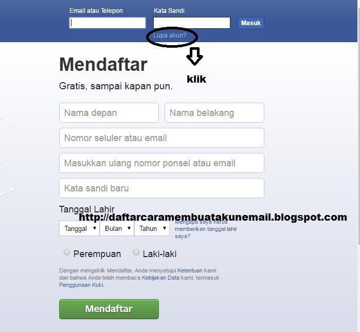 Cara Reset Password Fb Cara Memperbaiki Akun Fb Yang Di Hack